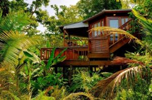 A private resort in the forests of Port Antonio well known for being a Jamaican honeymoon destination