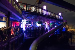 An interior view of Margaritaville After Dark, the hottest Jamaican night club